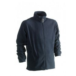 Fleece Darius marineblauw
