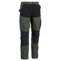 Pantalon Hector kaki/noir...