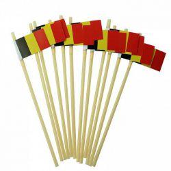 rietjes met Belgische vlag...