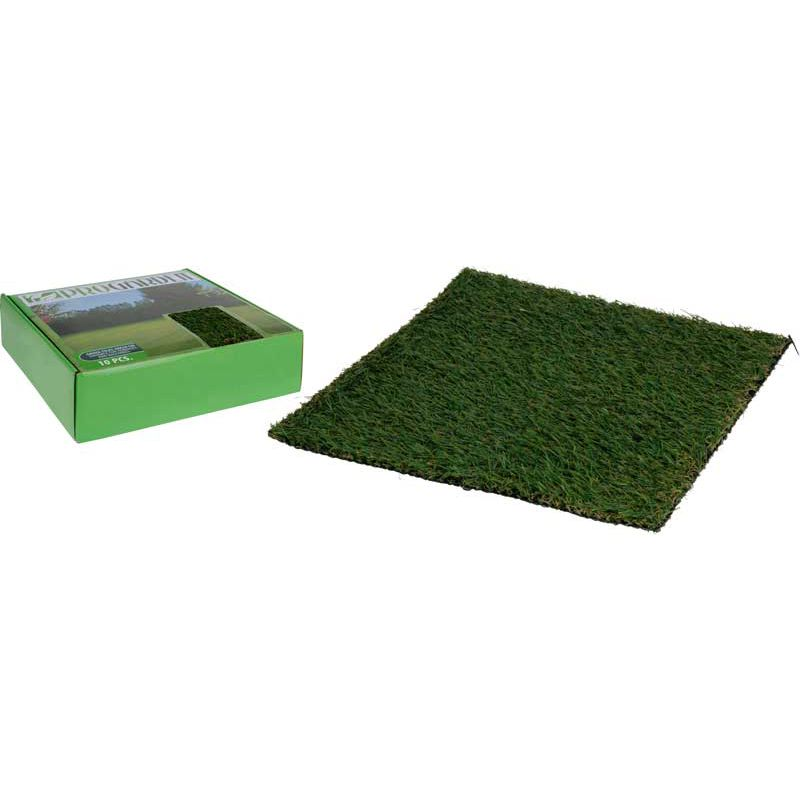 tapis gazon synth tique 10 dalles 30x30 cm. Black Bedroom Furniture Sets. Home Design Ideas