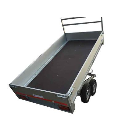 Kipper alu 2.60x1.57m  dubbel as TWINS TRAILERS®