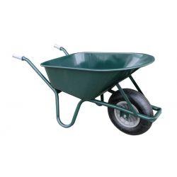 Kruiwagen 85 L  gelakt groen
