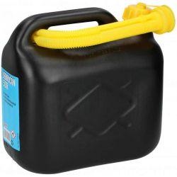 Jerrycan pvc zwart 5 liter...