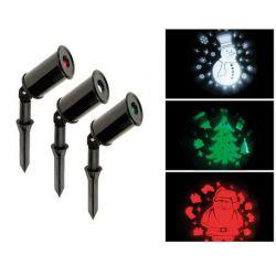 Kerst projector 3 stuks...