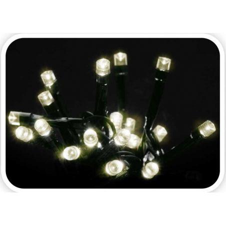 KERSTVERLICHTING 120 LED WARM WIT MET CONTROLLER 8 FUNCTIES