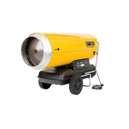 Heteluchtkanon hogedruk  mazout BAUGER 65 KW