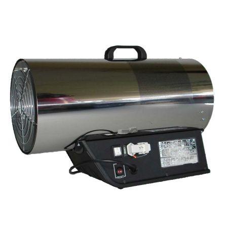 Heteluchtkanon gas 53 kW elektronisch