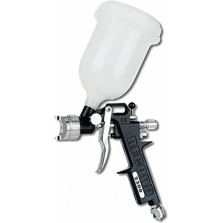 Verfpistool met bovenbeker 0.6 L BAUGER