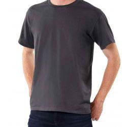 T-shirt  B&C  donkergrijs