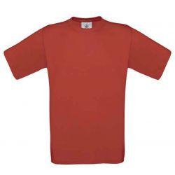 T-shirt  B&C  rood