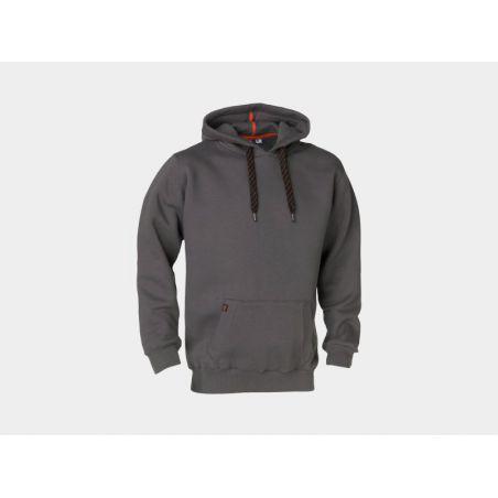 Sweater met kap HESUS grijs HEROCK