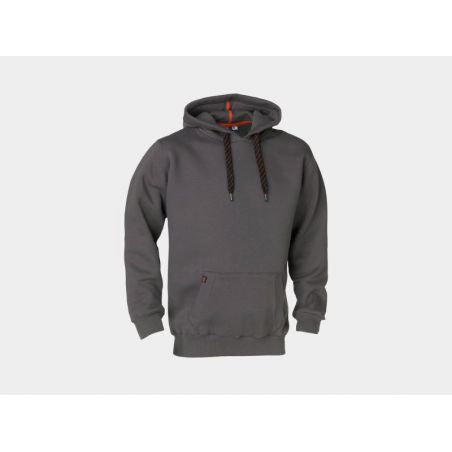 Sweater met kap HESUS grijs