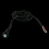 Câble d'alimentation droite avec bajonnette pour feu Aspöck