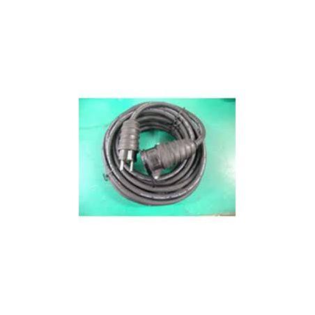 Verlengkabel 25m neopreen zwart 3G2.5mm² 16A