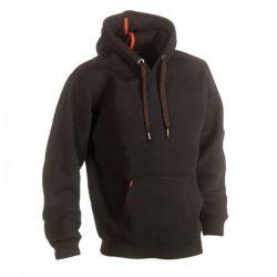 Sweater met kap HESUS zwart