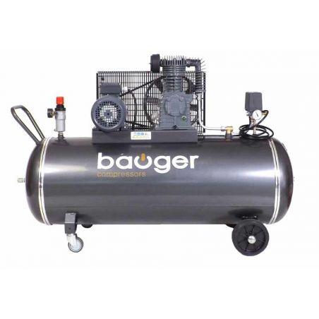 Compresseur Bauger 4 CV  200 L Prof