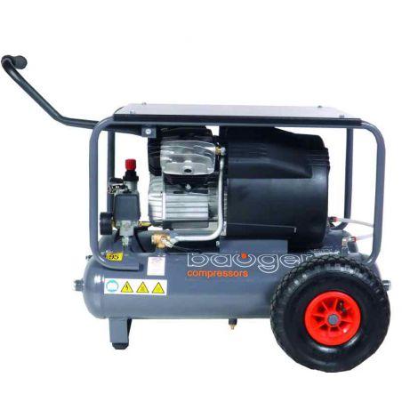 Compressor Bauger 3 PK 2 x 10 L Prof