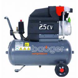 Compresseur Bauger 2.5 CV...