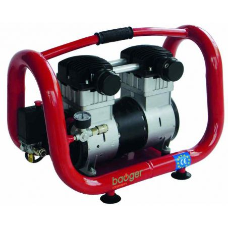 Compressor olieloos Bauger 2.5 PK  6 L 8 bar