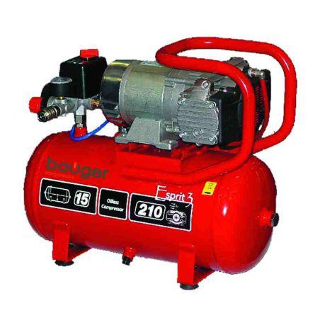 Compressor olieloos Bauger 15 L 10 bar 12 V prof