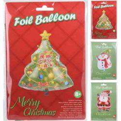 Folieballon kerst assortiment