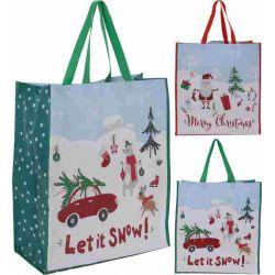 Shopper kerst 49 x 45 cm