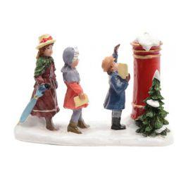 Figuur set voor kerstdorpen...