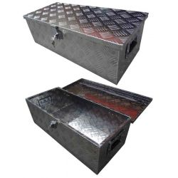 Disselbak aluminium 77x34x25cm