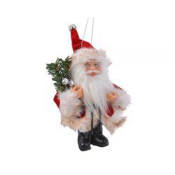 Hangornament kerstman rood...