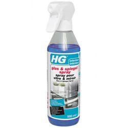 HG glas & spiegelspray 500ml
