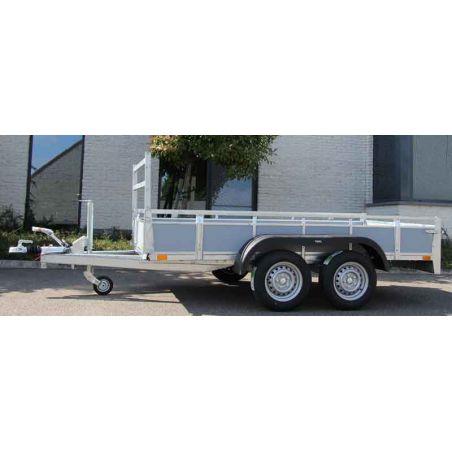 Aanhangwagen geremd 3.07x1.57 dubbel as 2000kg
