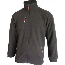 Fleece Ilias  antraciet HEROCK