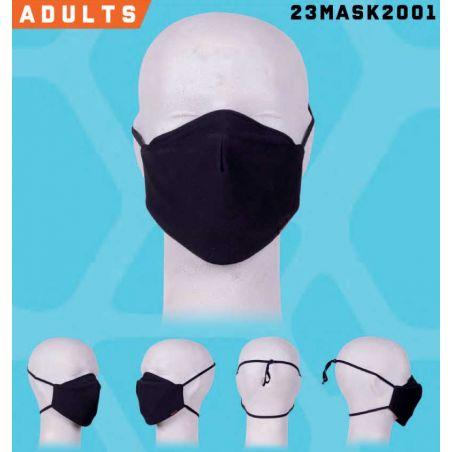mondmasker met vaste filter S/M zwart HEROCK