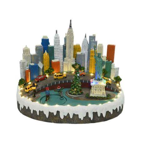 Kerstdorp New York 220v