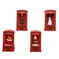 telefooncel kerstfiguur...