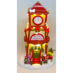 kerstdorp CLOCK TOWER...