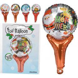 Folieballon kerst 29x49cm...