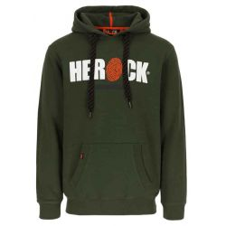 Sweater met kap HERO kaki...