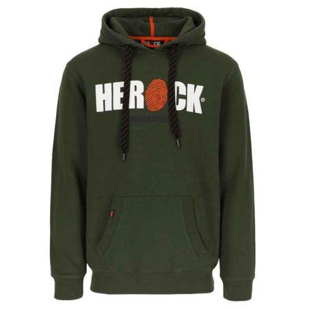 Sweater met kap HERO kaki HEROCK